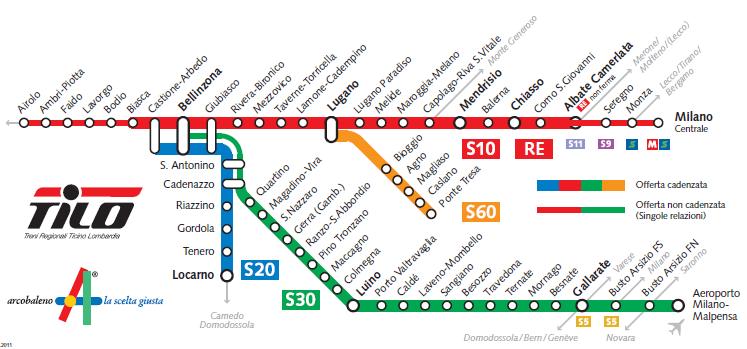 Notizie sui treni per malpensa - Porta garibaldi malpensa terminal 2 ...